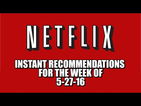 Netflix Instant Recommendations May 27 2016