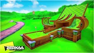 *NEW* KINGDOM TOWER UNITE MINIGOLF MAP! (Tower Unite Minigolf)