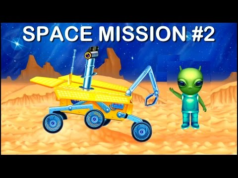 Kids Space Construction Machines: Mission-2 MARS EXPLORER (космические мультфильмы/การ์ตูนพื้นที่)