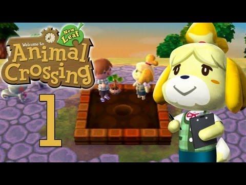 Let's Play Animal Crossing: New Leaf Part 1 : Zero der Bürgermeister