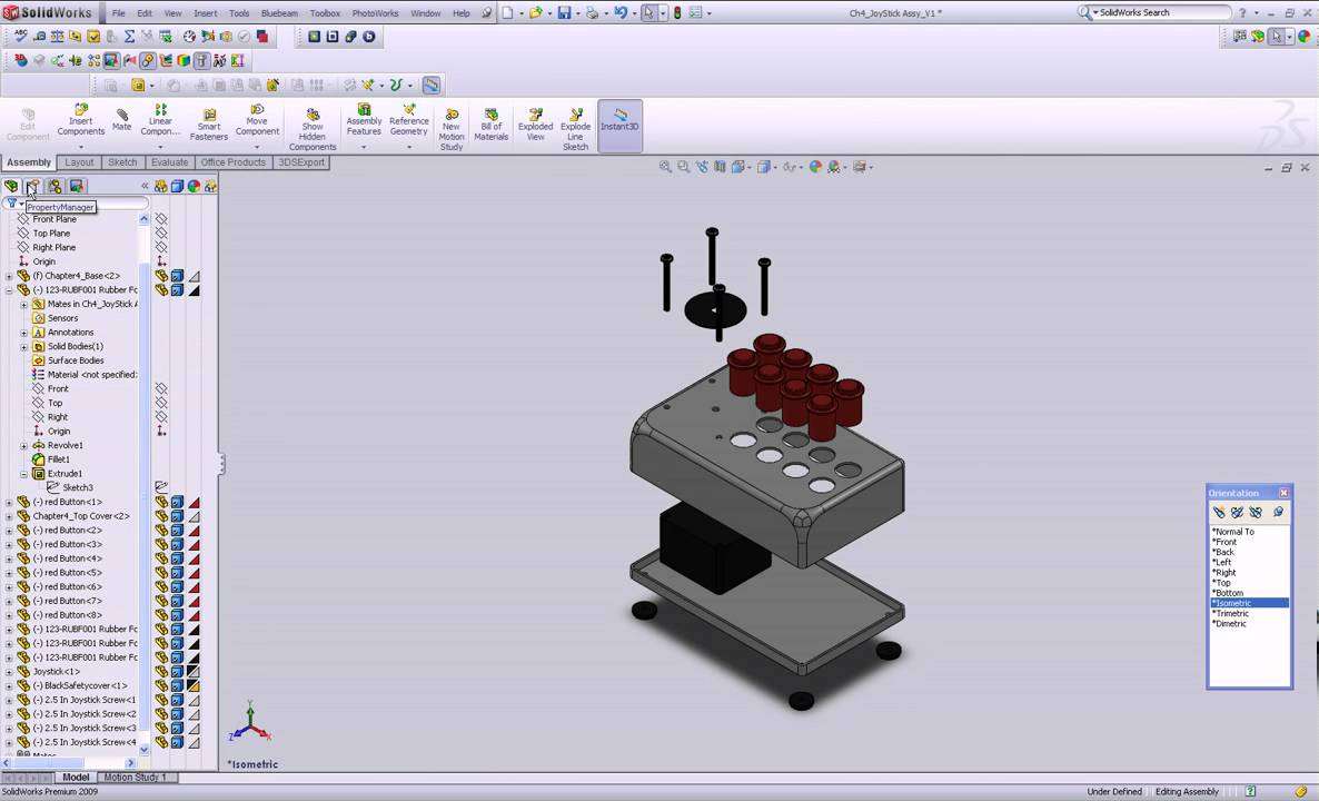 solidworks tutorial  create an exploded view