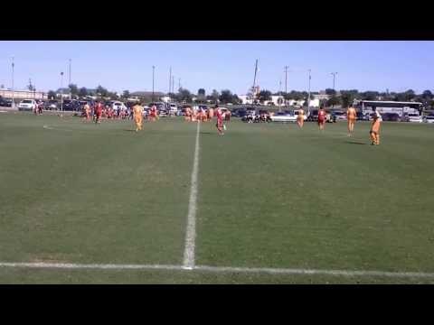 USSF Dynamo Academy U-18  V FC Dallas Academy 0 - 2