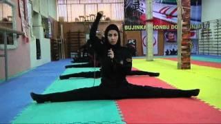 Iran's female ninjas in training   Channel 4 News