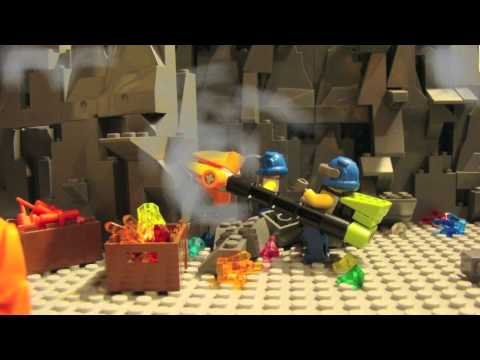 Lego Power Miners stop-motion movie