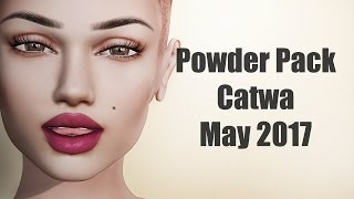 Powder Pack Catwa May 2017 - Unboxing Video - Second Life Subscription Box