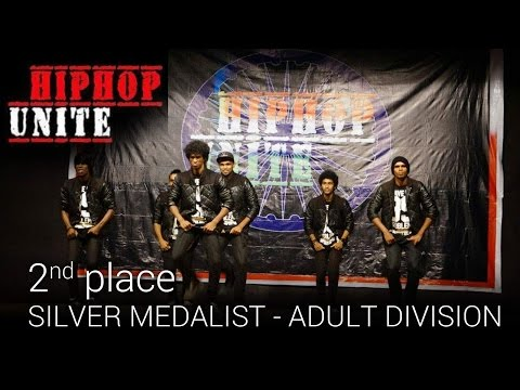 2nd place - B-FAB DANCE CREW - Hip-Hop Unite