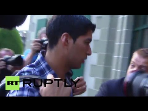Switzerland: Suarez attends FIFA bite ban appeal