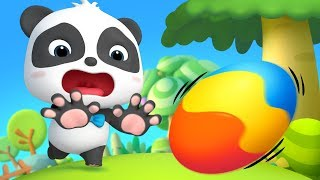 Baby Panda Saves Baby Egg | Kids Cartoon | Funny Cartoon for Kids | Panda Cartoon | BabyBus