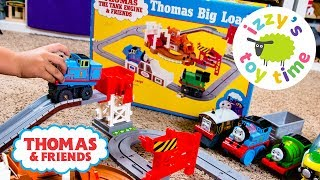 RARE THOMAS TRAIN TOMY! Thomas and Friends Big Loader Playset | Fun Toy Trains for Kids