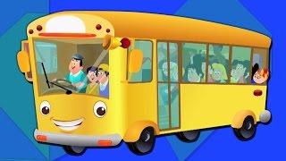 roues du bus | comptine et enfants chanson | bébé video | Wheels On The Bus