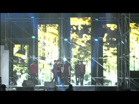 [hd] 130413 B.a.p Rain Sound At Yin Yue Tai V Chart video
