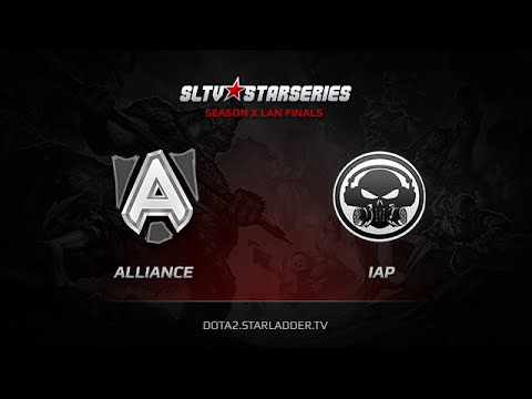 Alliance vs IAP, SLTV StarSeries X Finals, Day 3, LB Round 1