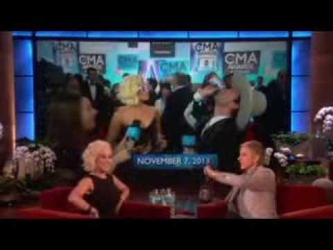 Kellie Pickler Knows How to Knock 'Em Back on Ellen show