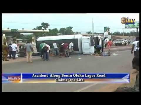 Accident Along Benin-Lagos Expressway Claim One Life