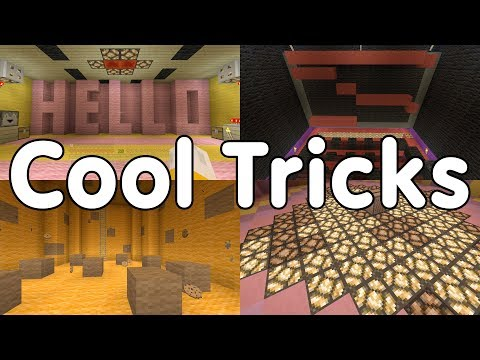 Top 10 Cool Minecraft Tricks