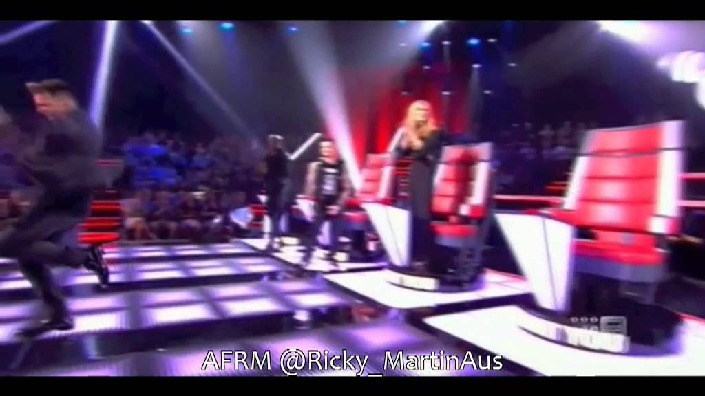 Ricky Martin On The Voice Australia Season 2 A Sneak