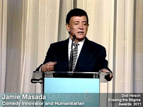 Erasing the Stigma Awards 2011 - part 3 - Leadership Award to Jamie Masada