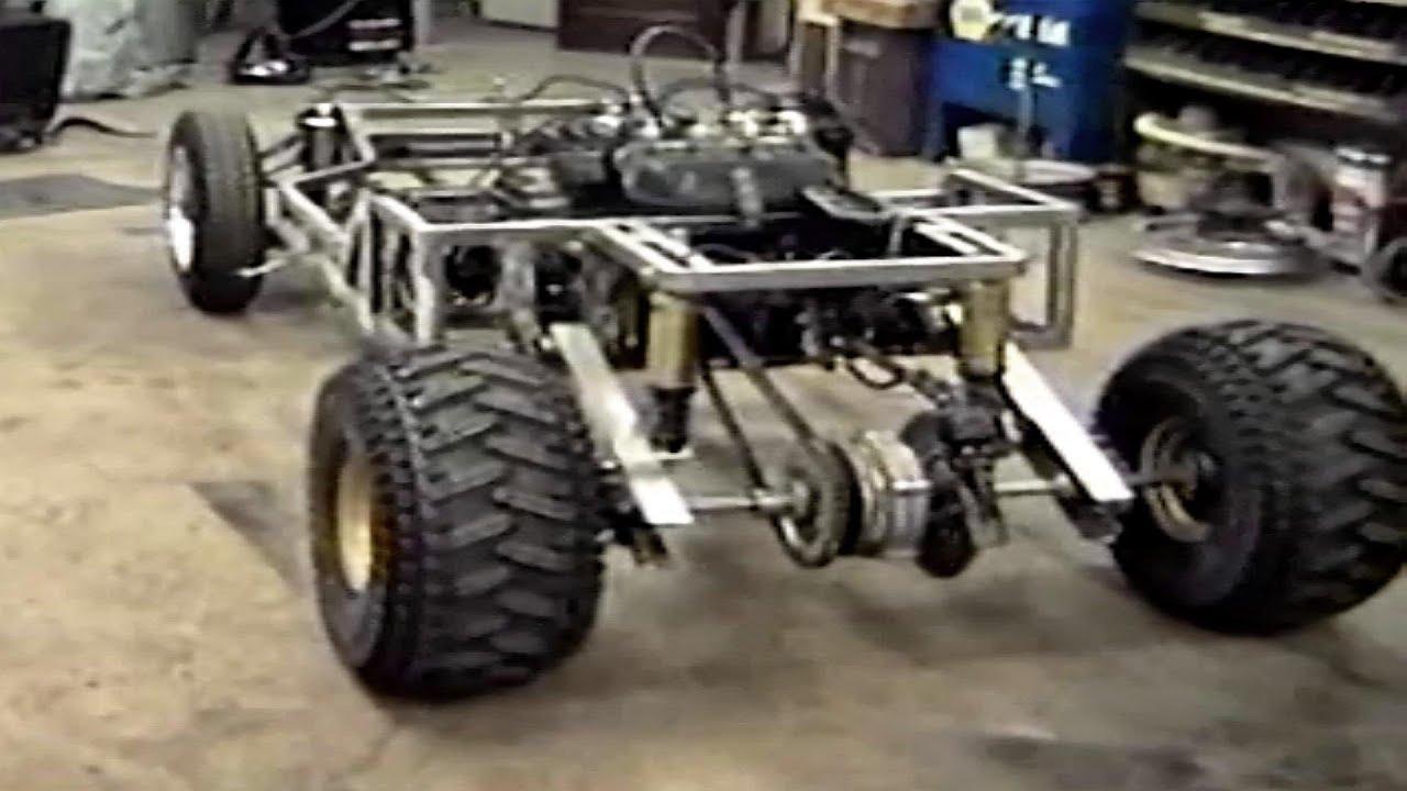 Homemade Go Kart The Build Part 1 YouTube