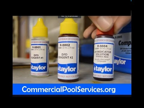 Pool Service Orange County | Pool and Spa Water Chemistry Testing