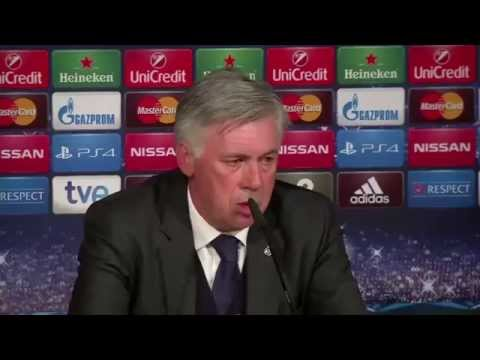 I'm sorry we played so badly - Real Madrid's Carlo Ancelotti