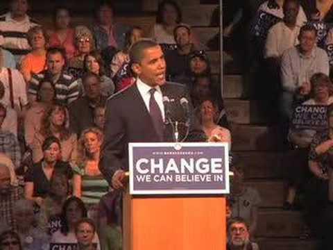 Barack Obama on Iraq in Great Falls, MT