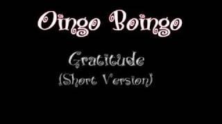 Watch Oingo Boingo Gratitude video
