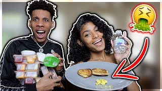 WE ONLY ATE TINY FOOD FOR 24 HOURS! | WORST CHALLENGE EVER 😱