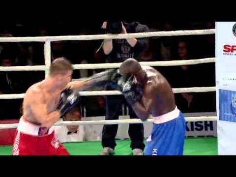 ADEM KILIÇÇI AIBA Pro Boxing (APB)1.maç Kadıköy Boks Spor Kulübü Antrenör Serdar Avcı