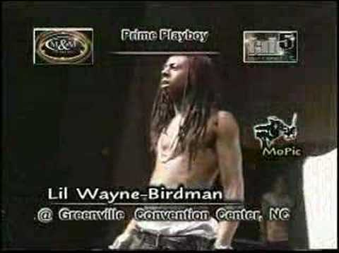 LiL Wayne & BirdMan ( Ending The Show To Whitney Houston!)