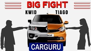 KWID vs TIAGO The Big Fight, CARGURU, Renault vs Tata which is the best small car??details in Hindi