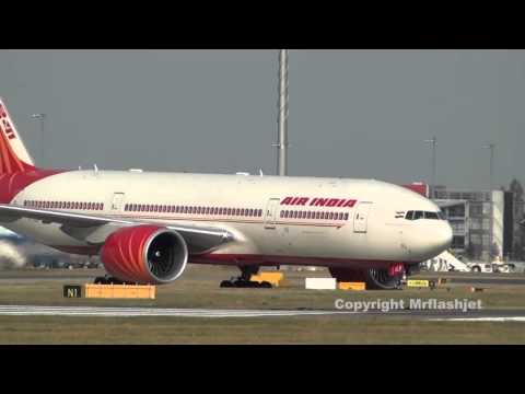 Air India 777-200LR  at Heathrow Airport