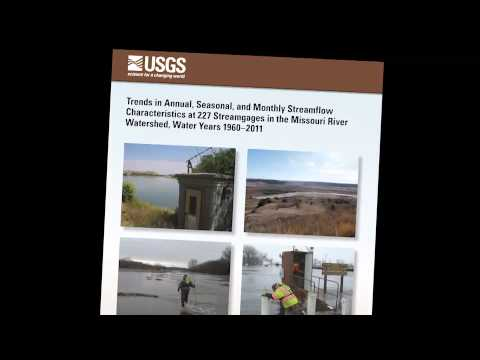 Missouri River Streamflow Trends