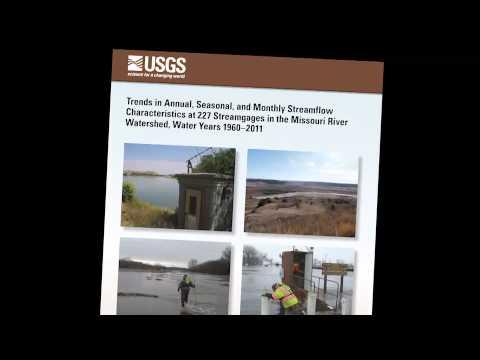 Missouri River Streamflow Trends
