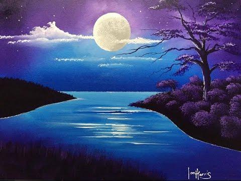 Watch Free  acrylic moon over lake Full Length Movie