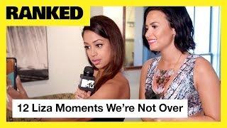 Liza Koshy's TOP 12 Moments ft. Demi Lovato, G-Eazy, Jacob Sartorius & More! | MTV Ranked