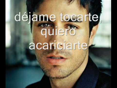 Enrique Inglesias- Heroe With LYRICS!