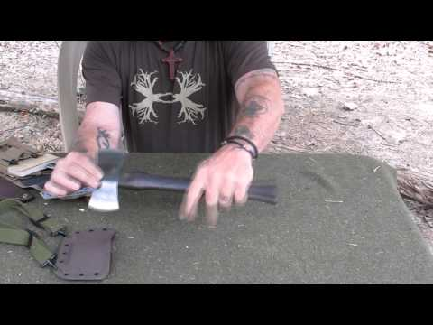 Pathfinder Product Review #5 The Nessmuk Hand Axe