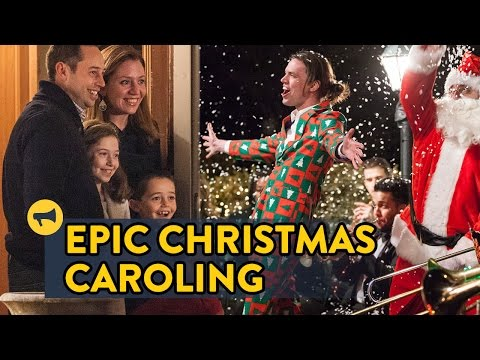 Epic Christmas Caroling (Improv Everywhere)