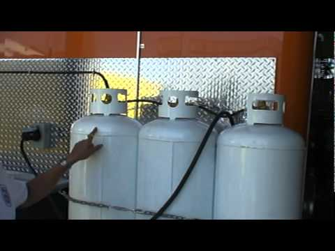 Concession Trailer Standby Generator Propane Fueled Youtube