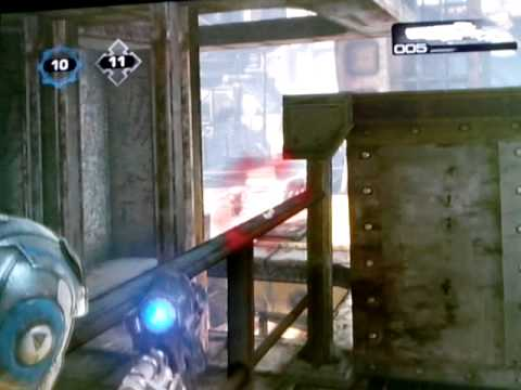 gears of war 3 gameplay- drydocks team death match
