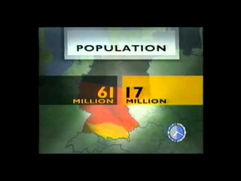 The reunification of Germany - 50 mins of BBC Breakfast News 3rd October 1990