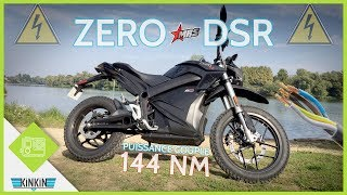 ESSAI MOTO ELECTRIQUE - ZERO DSR 🔋 - COUPLE DE FOU 144NM !!
