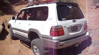 100 Series LandCruiser at Cruise Moab 09