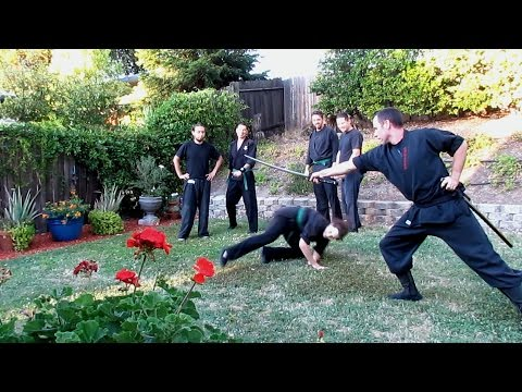 MUTO DORI SWORD EVASION, IMPACT TRAINING AND BUJINKAN JUJUTSU GROUND FIGHTING Image 1