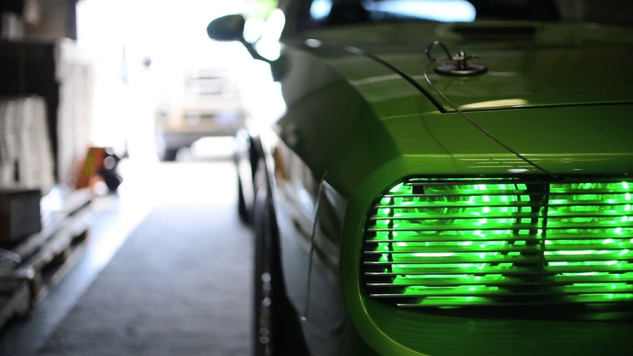 Oracle Lighting Plasma Halo Technology Featured On A 392 Dodge Challenger Youtube