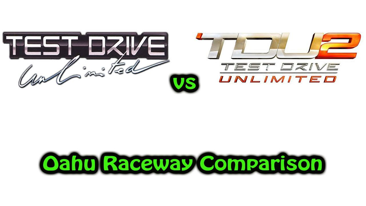 Driving Test h Track Test Drive Unlimited vs Test