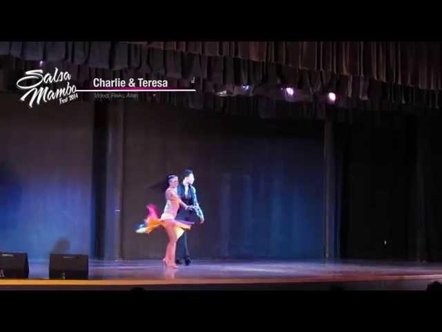 Charlie Garcia & Teresa Garcia | Salsa Mambo Fest 2014 | Riviera Nayarit
