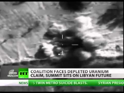Uranium bombs in Libya US, UK 'habit of deploying radioactive arms' [MIRROR]