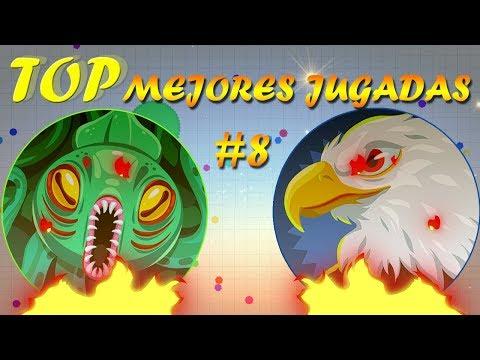 Top Mejores Jugadas #8 | Best Plays Agar.io