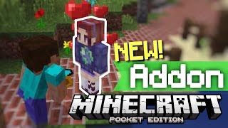 ✔️Minecraft PE - GIRLFRIEND ADDON [MCPE]